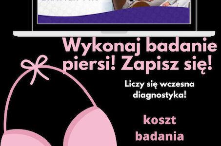 Europejski Dzień Walki z Rakiem Piersi – 15.10.2020