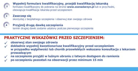 Informator dla pacjentów – szczepienia przeciw COVID – 19