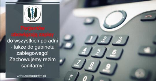 Rejestracja telefoniczna – zamiast kolejki!